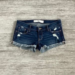 Distressed Jean Shorts from Abercrombie & Fitch